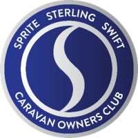 Sprite Sterling Swift Caravan Owners Club logo